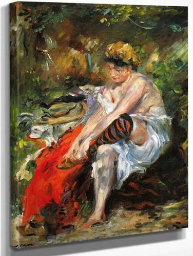 After The Bath By Lovis Corinth By Lovis Corinth