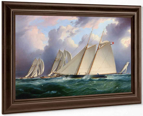 Yacht Orion By James E. Buttersworth