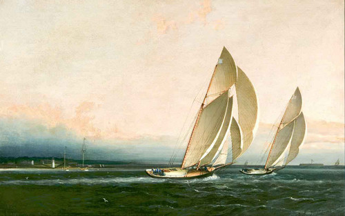 Yachts Racing By James E. Buttersworth