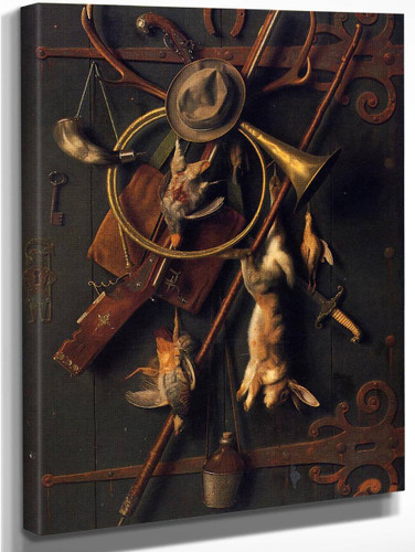 After The Hunt 23 By William Michael Harnett  By William Michael Harnett