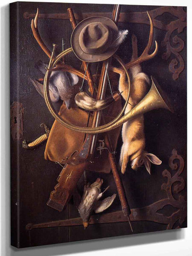 After The Hunt 3 By William Michael Harnett  By William Michael Harnett