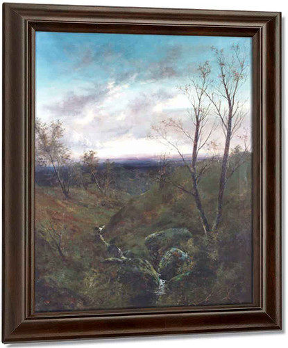 After The Storm By Alexander Helwig Wyant Oil on Canvas Reproduction