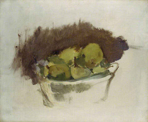 A Basket Of Pears By Edouard Manet By Edouard Manet