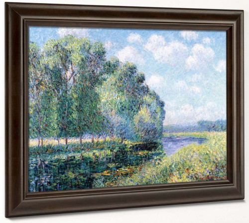 A Bend In The Eure By Gustave Loiseau By Gustave Loiseau