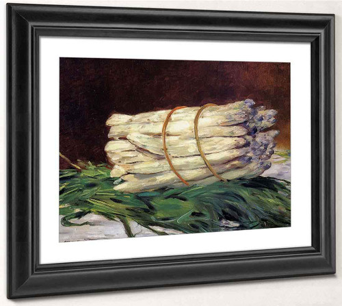 A Bunch Of Asparagus By Edouard Manet By Edouard Manet