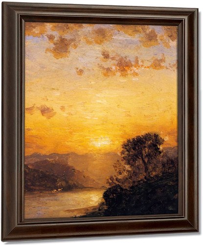 Afternoon Glow By Samuel Colman Oil on Canvas Reproduction