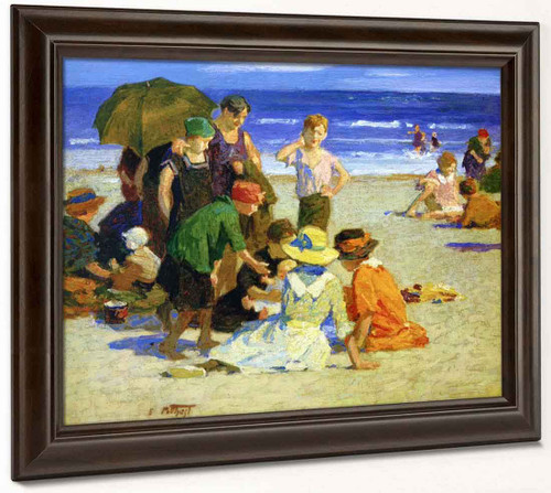 A Family Outing1 By Edward Potthast By Edward Potthast