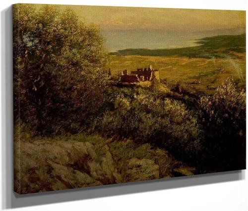 A Provenáal Castle By Henry La Thangue