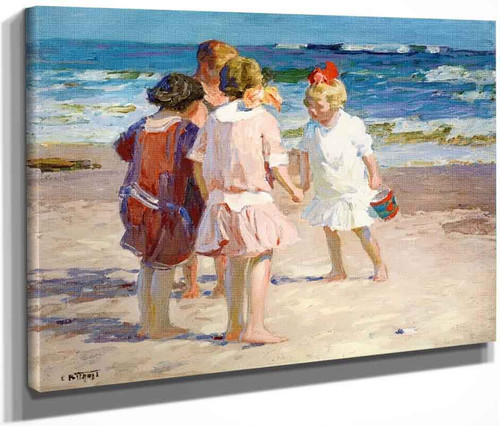 A Rare Find By Edward Potthast By Edward Potthast