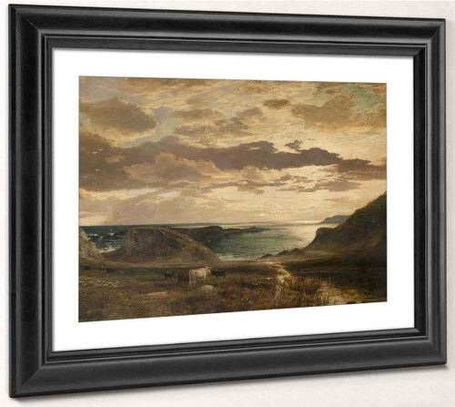 A Scottish Landscape By Samuel Bough
