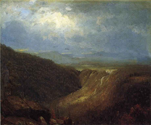 A Souvenir Of The Catskills By Sanford Robinson Gifford  By Sanford Robinson Gifford
