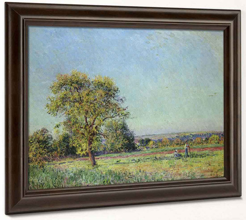 A Summer's Day By Alfred Sisley