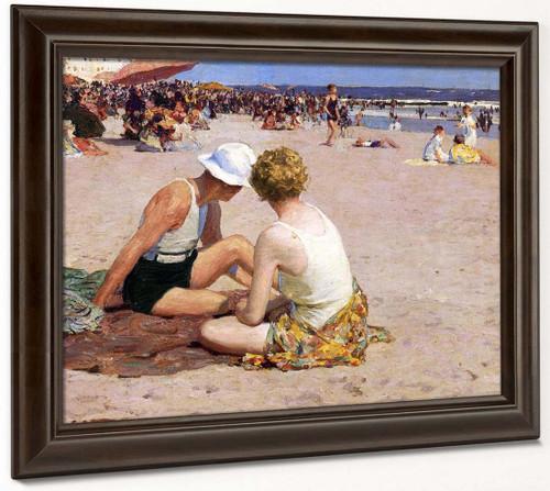 A Summer Vacation By Edward Potthast By Edward Potthast