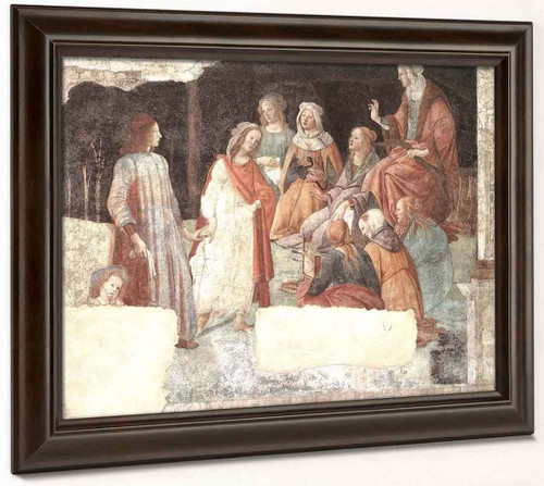 A Young Man Being Introduced To The Seven Liberal Arts By Sandro Botticelli