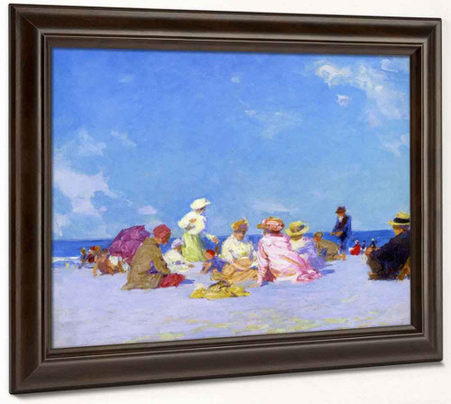 Afternoon Fun By Edward Potthast By Edward Potthast