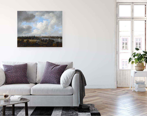 Amsterdam, As Seen From The Amsteldijk By Jacob Van Ruisdael