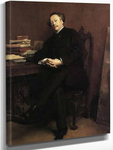 Alexander Dumas By Jean Louis Ernest Meissonier