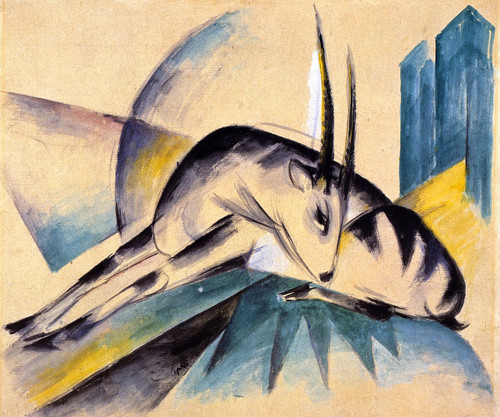 Antilope By Franz Marc By Franz Marc