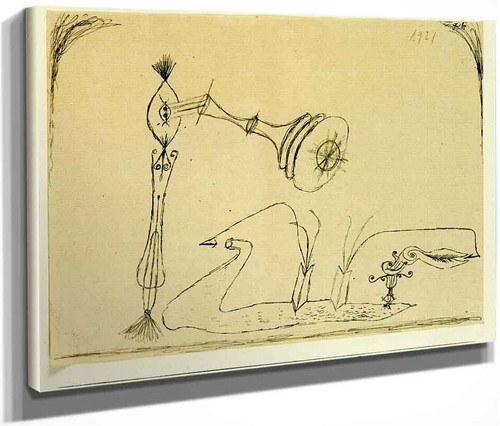 Apparatus For The Magnetic Treatment Of Plants By Paul Klee By Paul Klee
