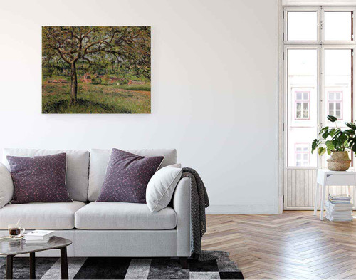 Apple Tree At Eragny By Camille Pissarro By Camille Pissarro