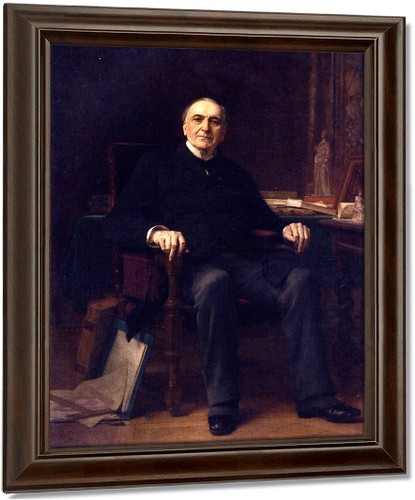 Alfred Armand By Alexandre Cabanel