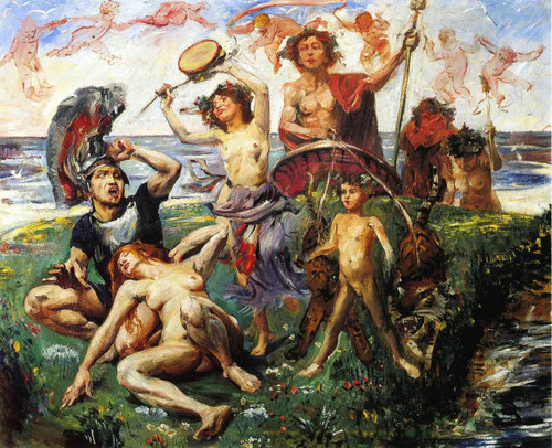 Ariadne Auf Naxos By Lovis Corinth By Lovis Corinth