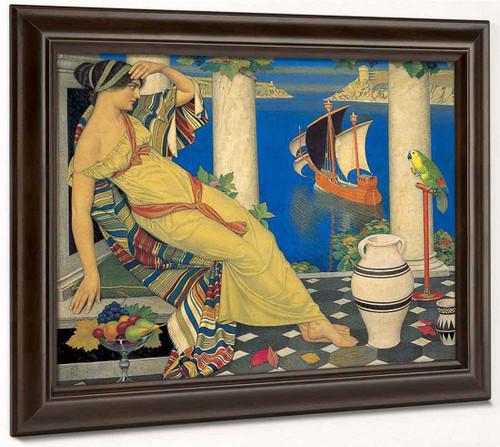 Ariadne On Naxos By Joseph Edward Southall