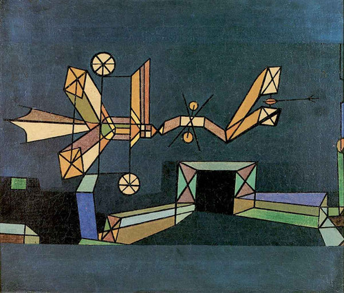 Arrival Of The Air Dragon By Paul Klee By Paul Klee