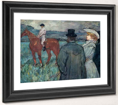 At The Races By Henri De Toulouse Lautrec