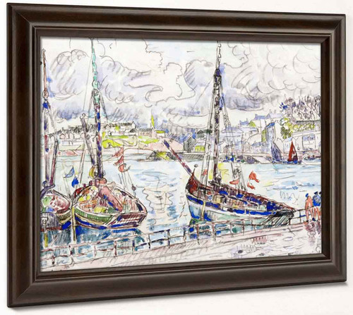 Audierne By Paul Signac