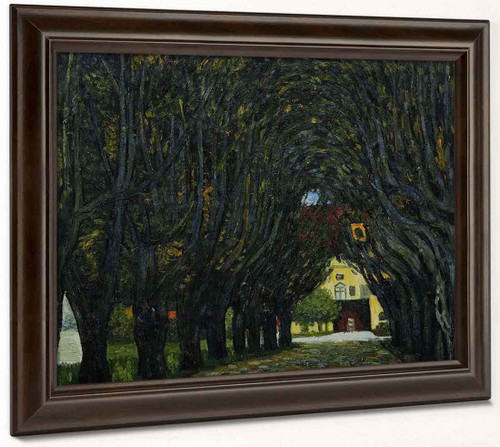 Avenue In Schloss Kammer Park By Gustav Klimt By Gustav Klimt