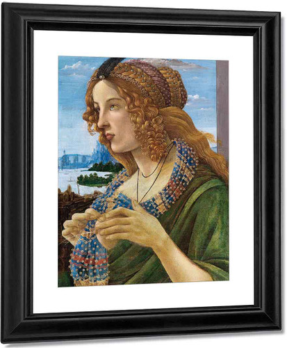 Allegorical Portrait Of A Woman By Sandro Botticelli