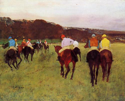Before The Start1 By Edgar Degas By Edgar Degas