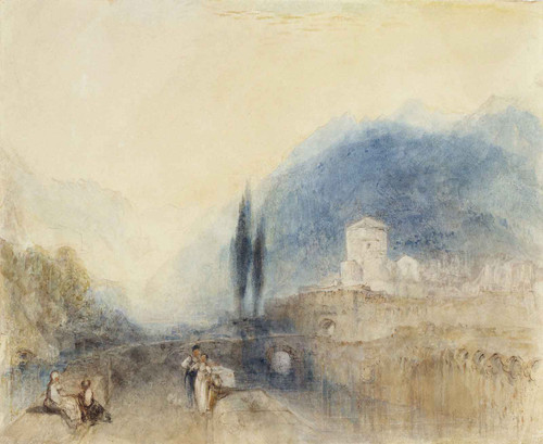 Bellinzona By Joseph Mallord William Turner
