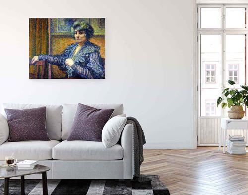 Berthe Signac By Theo Van Rysselberghe