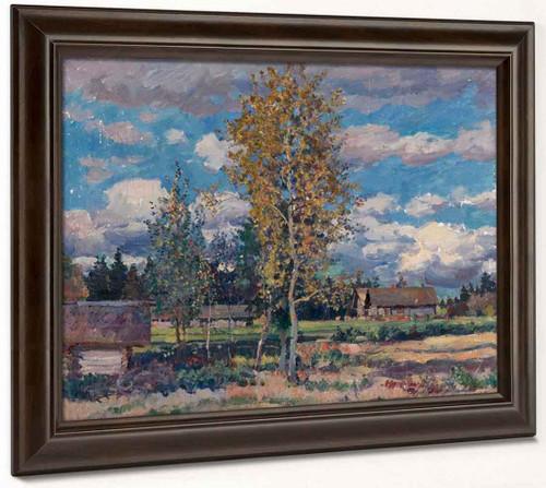 Birch Trees. Sunny Day By Sergei Arsenevich Vinogradov Russian 1869 1938