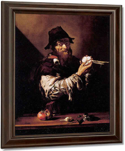 Allegory Of Smell By Jusepe De Ribera