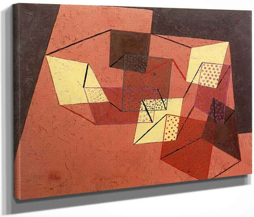 Braced Surfaces By Paul Klee By Paul Klee