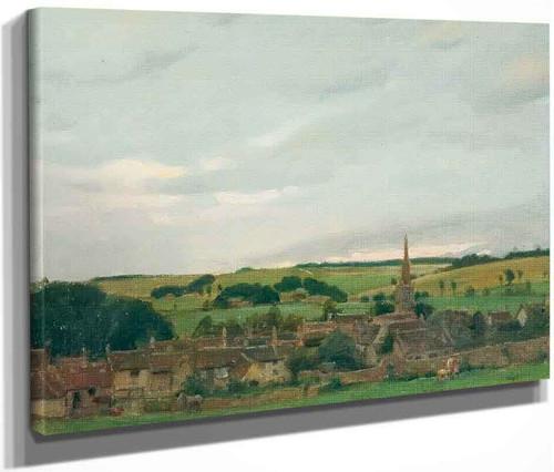 Burford, Oxfordshire By Norman Garstin