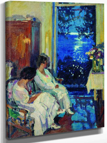Alupka0 By Sergei Arsenevich Vinogradov Russian 1869 1938