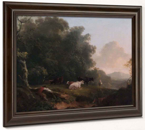 Cattle5 By Thomas Sidney Cooper By Thomas Sidney Cooper