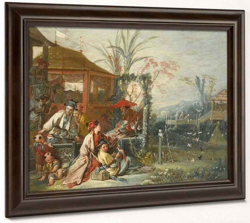 Chinese Hunt By Francois Boucher