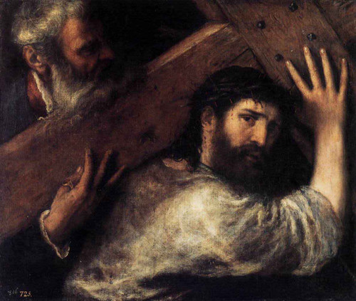 Christ Carrying The Cross 2 By Titian