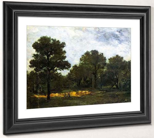 Clearing Ii By Paul Gauguin  By Paul Gauguin