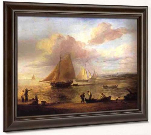 Coastal Scene A Calm By Thomas Gainsborough  By Thomas Gainsborough