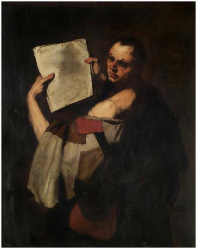 An Astronomer By Jusepe De Ribera