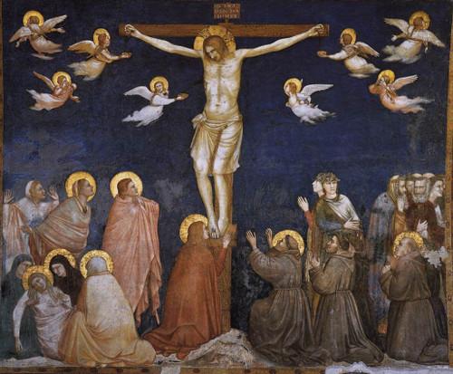 Crucifixion  By Giotto Di Bondone By Giotto Di Bondone
