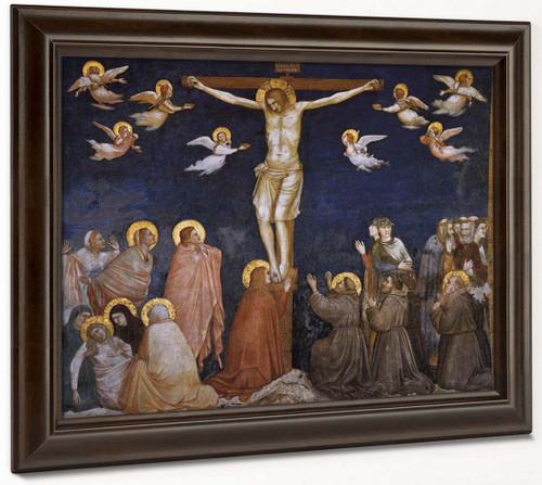 Crucifixion  By Giotto Di Bondone By Giotto Di Bondone