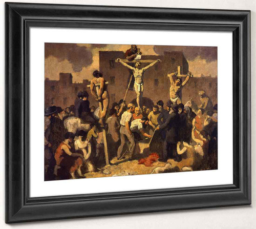 Crucifixion By Robert Spencer
