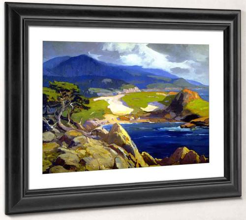 Cypress Point By Franz Bischoff By Franz Bischoff